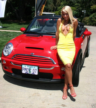 2007 Playmate Of The Year's Mini S Drop-Top Pops Up On eBay