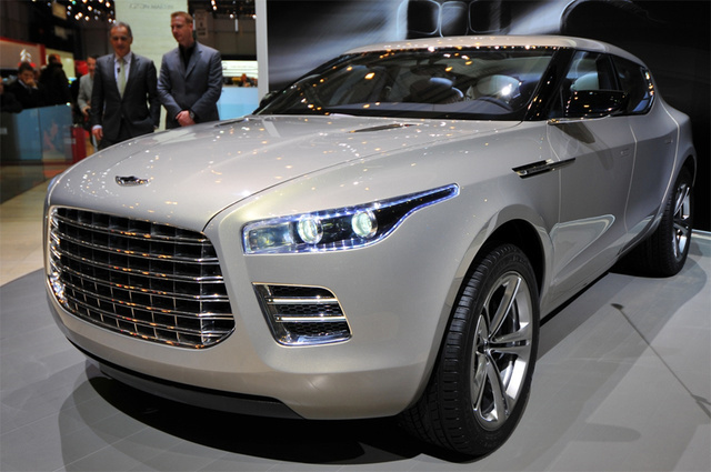 Aston Martin Lagonda Concept: Cross Our Heart, Hope It Dies