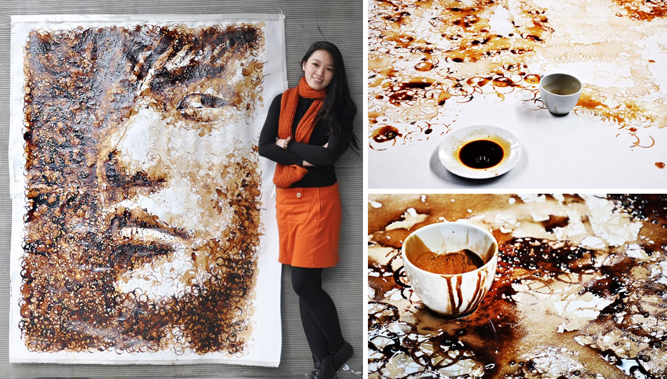 Click here to read Watch This Artist Create a Caffeinated Masterpiece With Coffee Cup Stains