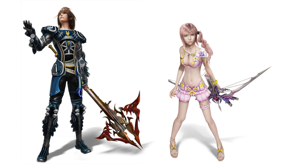 These Sexy <em>Final Fantasy XIII-2</em> DLC Outfits Are Completely Justifiable