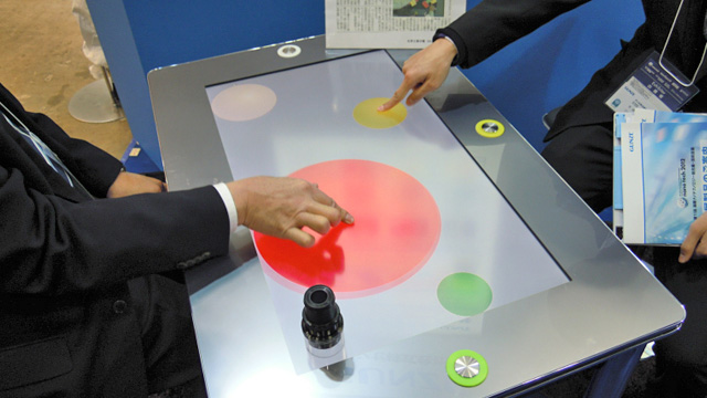 Click here to read A Multi-User Touchscreen That Keeps Track Of Who Is Who