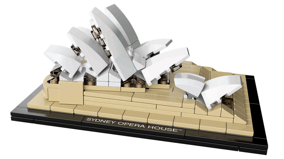 Click here to read Sydney Opera House Is Our New Favorite Lego Architecture Set