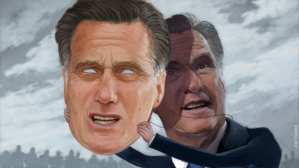 Romney the imposter