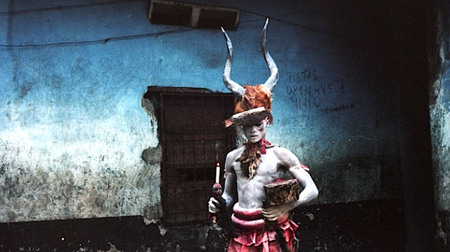 You and I will never look as bad-ass as these Congolese magician-wrestlers