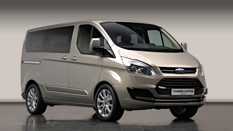 Click here to read Ford Tourneo Custom Concept: A Fancy Van For Europeans