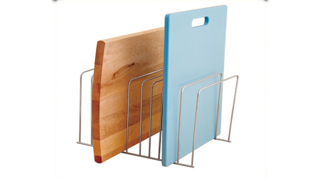 Click here to read Use Office File Folder Racks to Keep Cutting Boards Organized and Easy to Reach