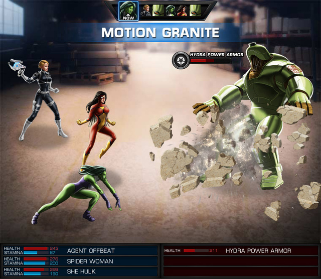 Avengers Alliance Gallery