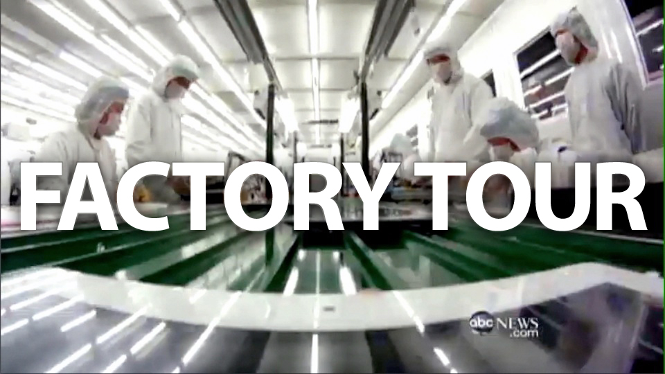 Click here to read Inside Foxconn: TV Crew Enters Apple's Factories for the First Time Ever