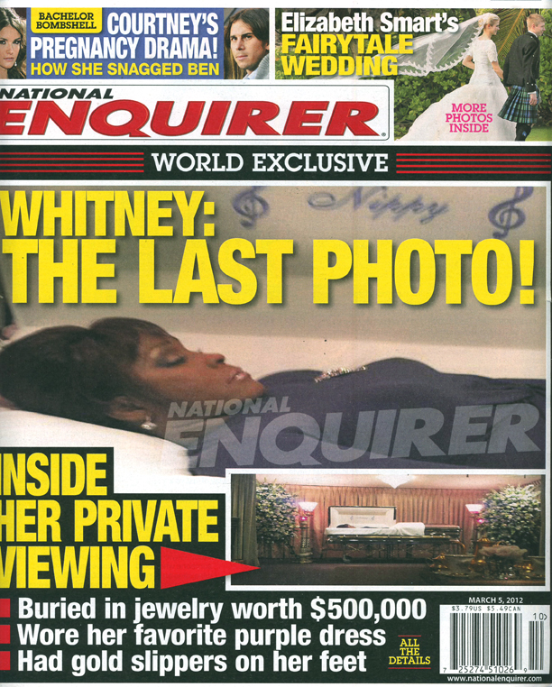 This Casket Photo of Whitney Houston's Dead Body Is Now on