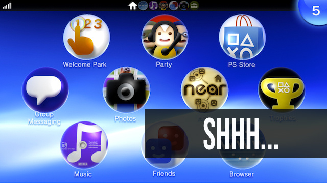 How To Turn Off the Vita's Background Music