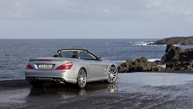 2013 Mercedes-Benz SL63 AMG: The Overweight Lover's In The House