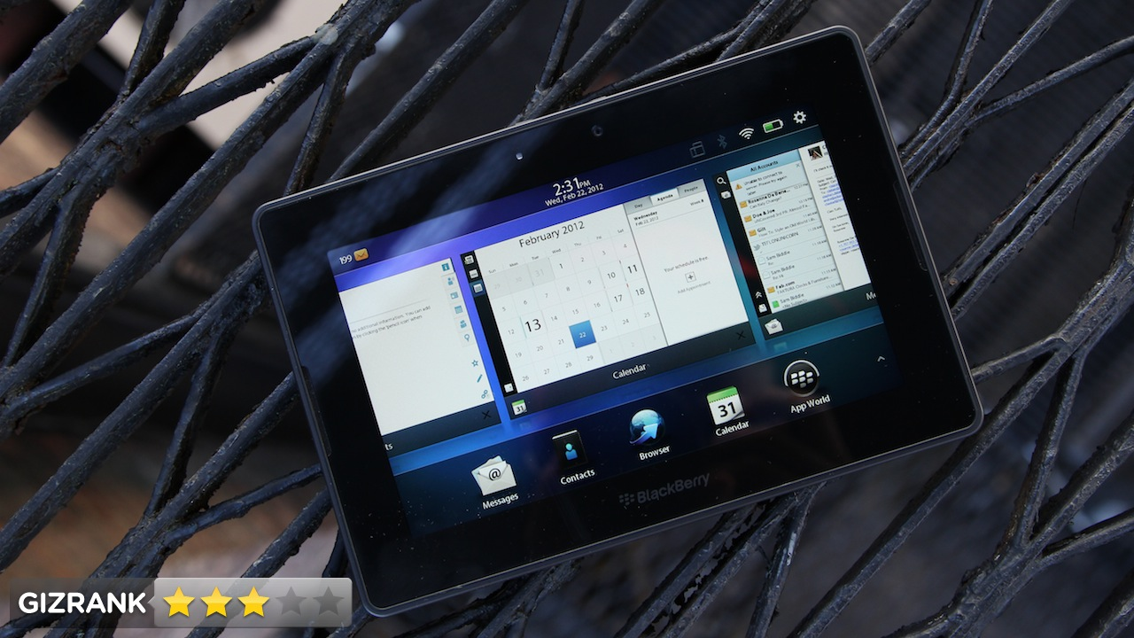 Click here to read BlackBerry PlayBook OS 2.0 Review: A Beautiful Desert