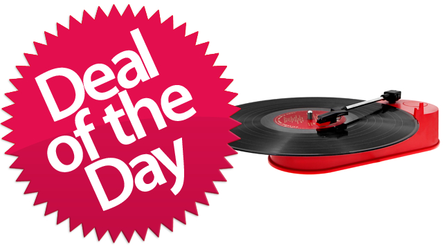 Click here to read This Mini Portable USB Turntable Is Your Preservationist Deal of the Day