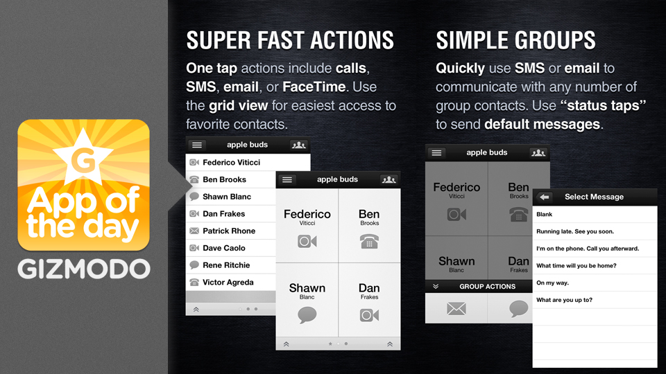 Click here to read Buzz Contacts for iPhone: A Faster and Smarter Contacts App That's Better Than Apple's