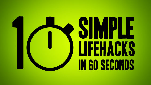 Click here to read Watch This Video to Learn 10 Simple Everyday Life Hacks in 60 Seconds