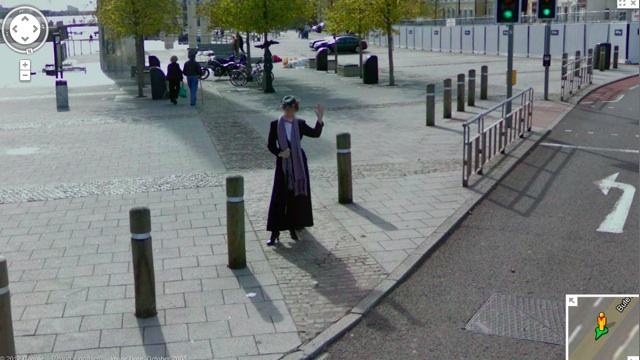 According to Google Maps, Mary Poppins is Doctor Who