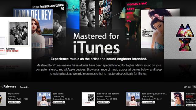 "Click here to read Apple Now Selling Low Bitrate, High Quality ""Mastered for iTunes"" Tracks"