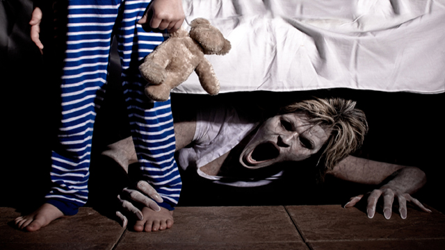 Gallery images and information: Scary Things Under The Bed