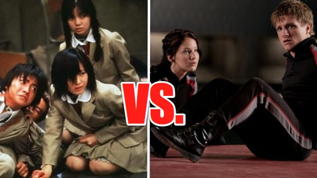 Battle Royale and Hunger games