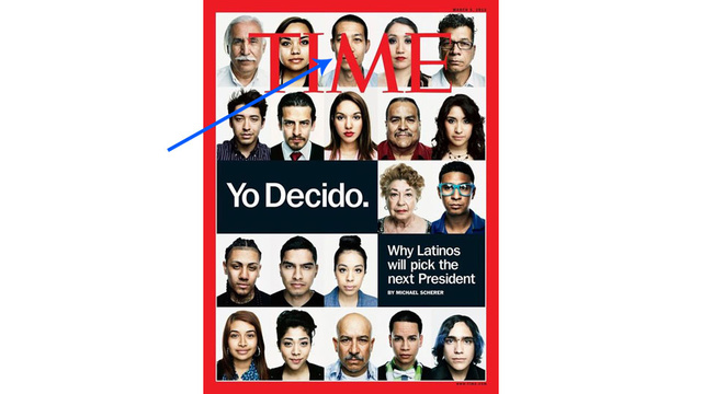 Time Put an Asian on Their Cover About Latino Voters