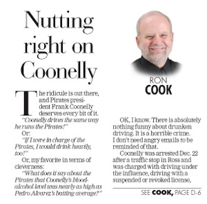 "Pirates Owner's Response To Team President's DUI Gives Us The Best Headline Of The Day: ""Nutting Right On Coonelly"""
