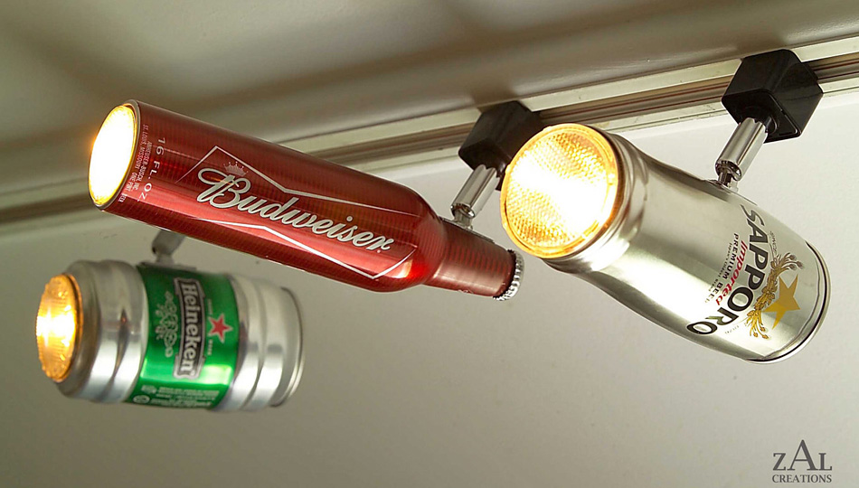 Click here to read Instantly Class Up Any Room With Beer Can Lighting