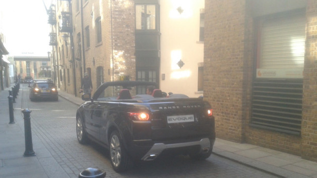 Range Rover Evoque Convertible Concept Spotted In Streets Of London