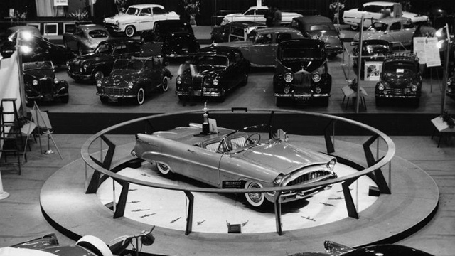 See A Rare Concept Car On The Auto Show Floor In 1954