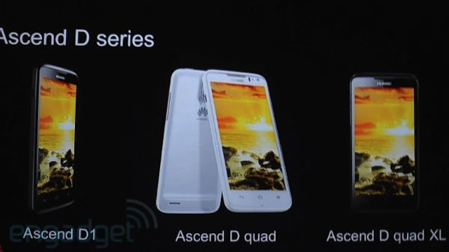 Huawei's Ascend D Quad Phone Looks Ferocious