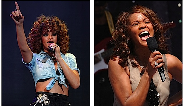 rihanna and whitney houston