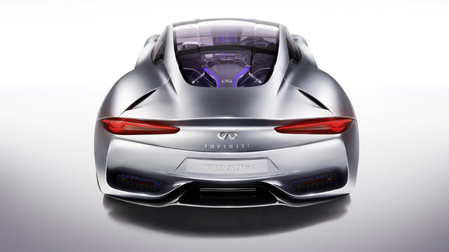 Photos Of Electric Infiniti Emerge-E Reveal Sleek Concept Supercar