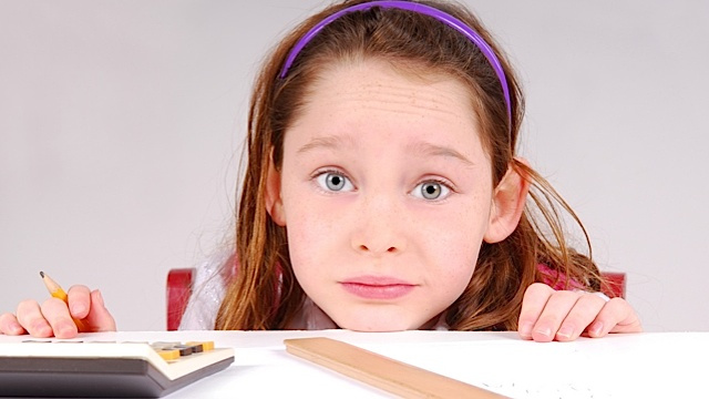 Moms Don't Frazzle Their Daughters with Fancy Math-Speak