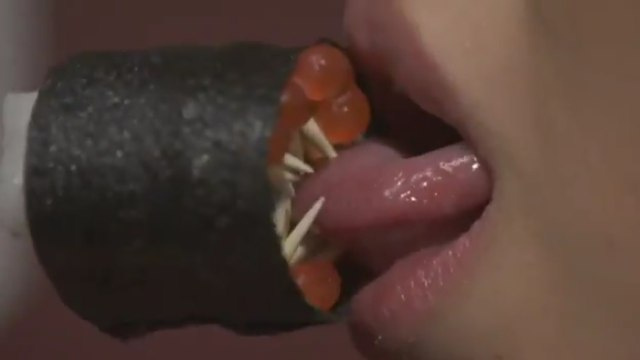 When sushi goes bad, it grows teeth and rips our your tongue. Watch out!