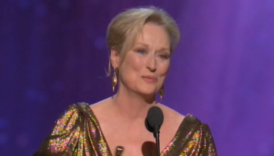 Click here to read How Was Meryl Streep Winning Oscar Night's Big Surprise?