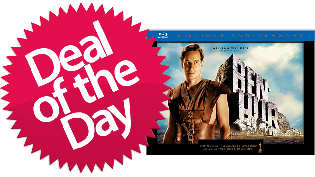 Click here to read The Ben-Hur 50th Anniversary Collectors Edition Is Your Best Picture Movie That's Not Silent Deal of the Day