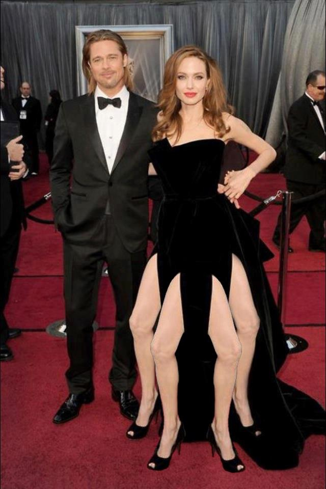 Angelina's Right Leg Poised to Supplant All Creative Arts Forever