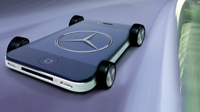 Click here to read Siri Will Command the New Mercedes A-Class