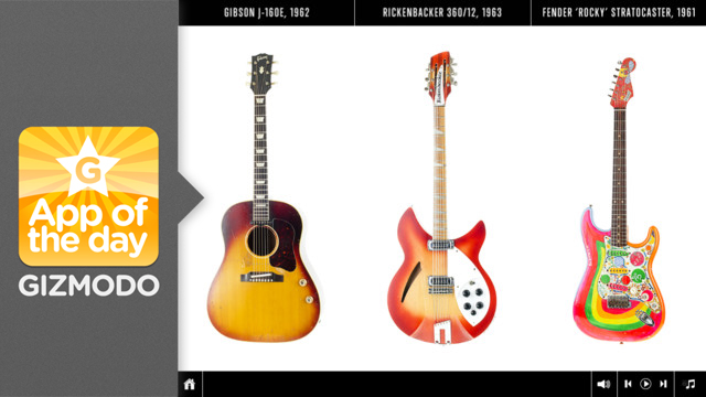 Click here to read The Guitar Collection: George Harrison for iPad: A Fantastic Look at a Great Musician's Instruments