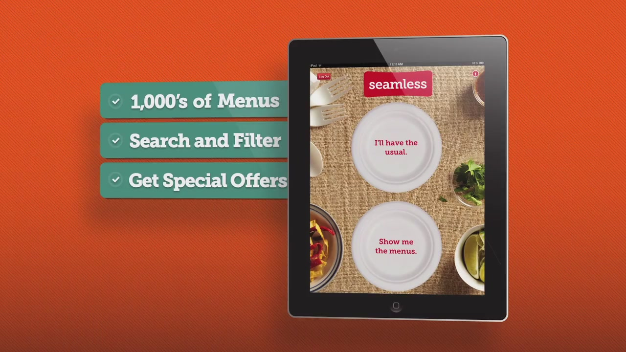 Click here to read Seamless for iPad: The New Most Amazing Way to Be a Lazy Food Addict