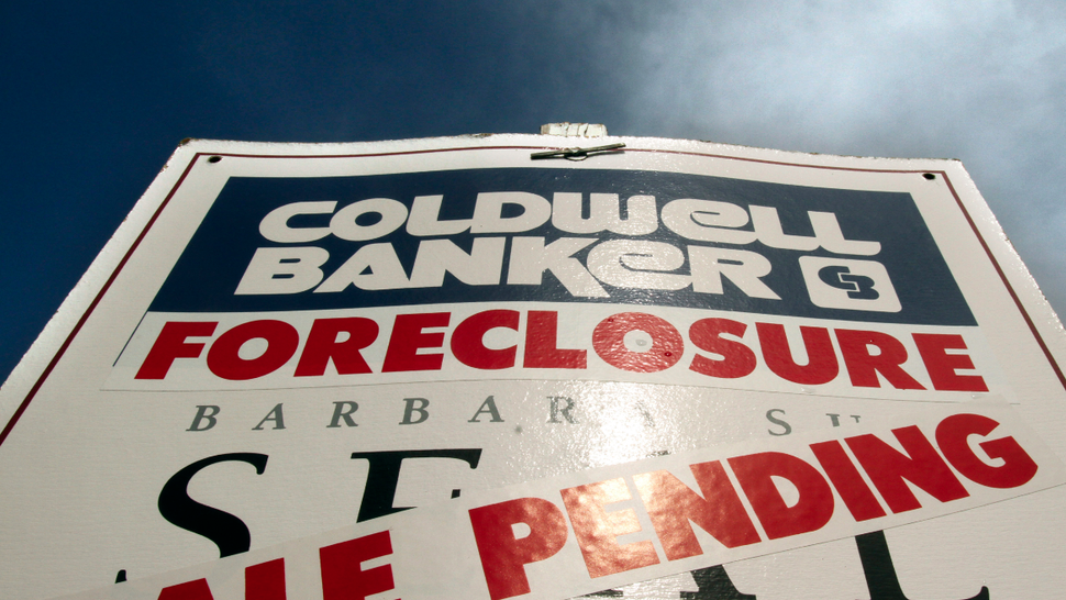 Foreclosures on The Top 1% Sure Do Move Slowly