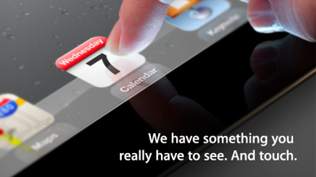 Click here to read Apple Will Announce the Next iPad on March 7th