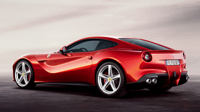 Ferrari F12berlinetta: Press Photos