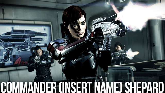My Commander Shepard Has a First Name, It's...