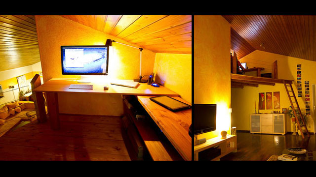 The Upper Deck Workspace: A Cool, Lofted Office