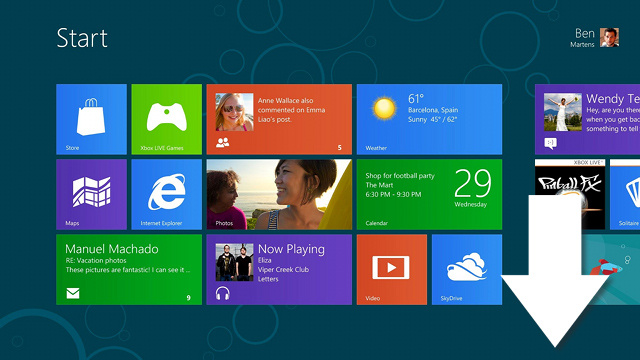 Try Out the Final Version of Windows 8 for 90 Days