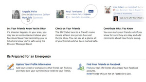 Facebook Will Prove You're Alive During the Next Disaster