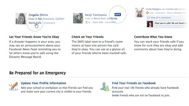 Click here to read Facebook Will Prove You're Alive During the Next Disaster