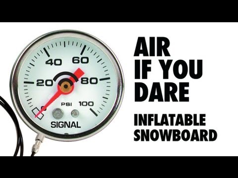 Click here to read How To Make an Inflatable Snowboard