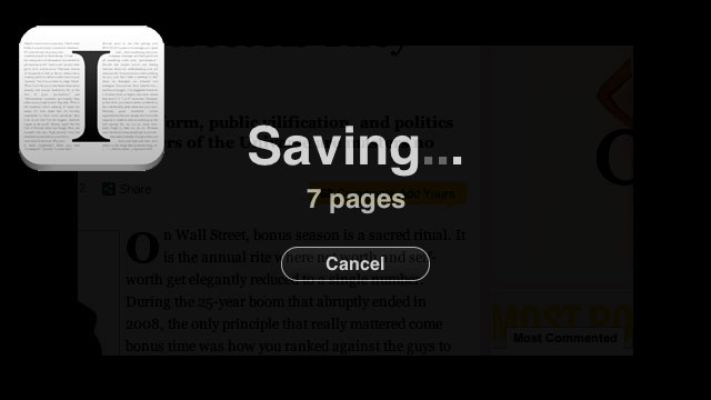 Click here to read Instapaper Bookmarklet Now Saves Multi-Page Articles