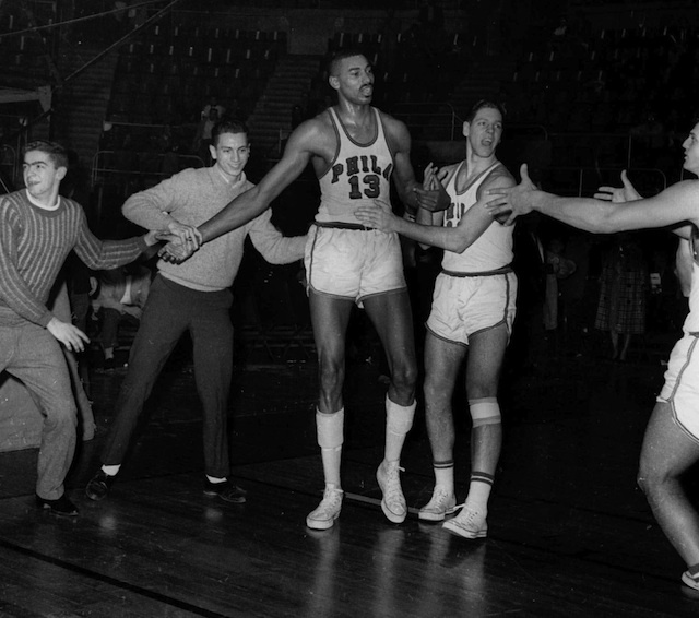 The Eagles And Colts Were The Opening Act For Wilt Chamberlain's 100-Point Game